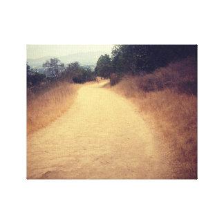 hike in LA Canvas Print