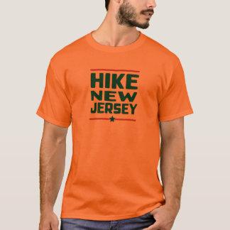 Hike New Jersey (Star) - Blaze Orange T-Shirt
