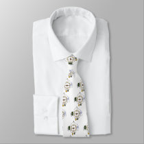 Hike Our Planet Hiker's Soul Compass Neck Tie