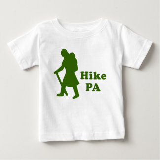 Hike PA Girl - Dark Green Baby T-Shirt