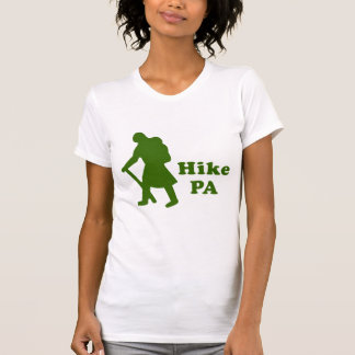 Hike PA Girl - Dark Green T-Shirt