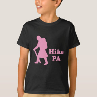 Hike PA Girl - Light Pink T-Shirt