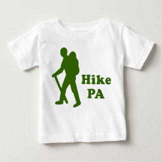 Hike PA Guy, Dark Green Baby T-Shirt