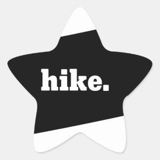 Hike Pennsylvania Star Sticker