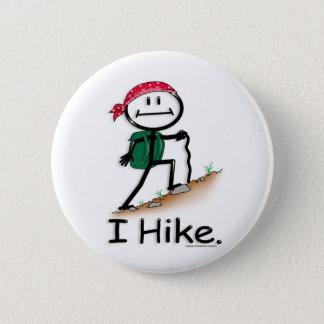 Hike Pinback Button