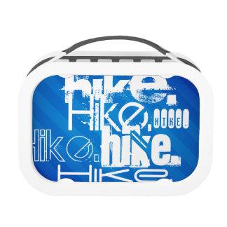 Hike; Royal Blue Stripes Yubo Lunch Box