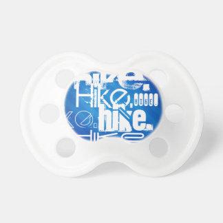 Hike; Royal Blue Stripes BooginHead Pacifier