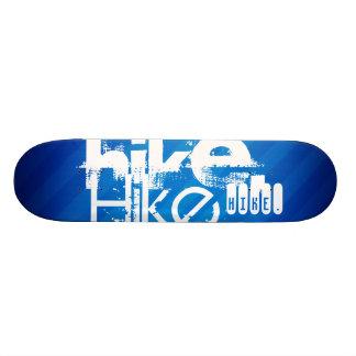 Hike; Royal Blue Stripes Skateboard Decks