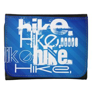Hike; Royal Blue Stripes Wallet