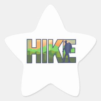 HIKE STAR STICKER