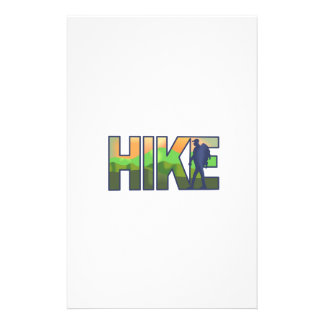 HIKE PERSONALIZED STATIONERY