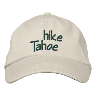 Hike Tahoe Embroidered Baseball Hat