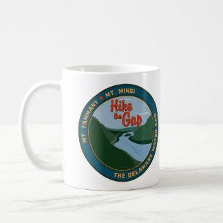 Hike the Gap Classic White Coffee Mug