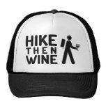 Hike then Wine Trucker Hat