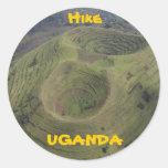 Hike Uganda Sticker