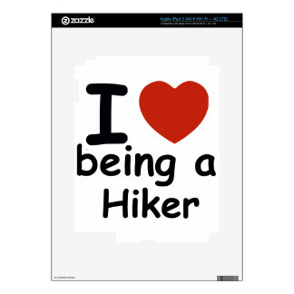hiker design iPad 3 skins