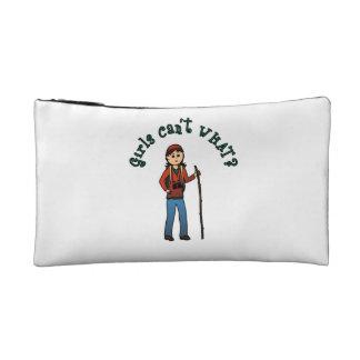 Hiker Girl Cosmetic Bag
