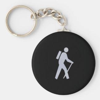 Hiker Keychains