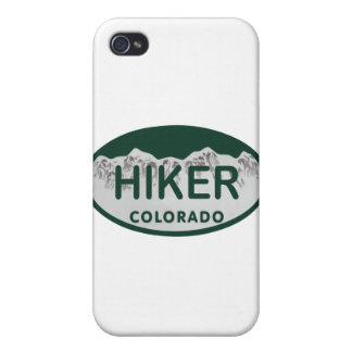 Hiker license oval iPhone 4/4S cover