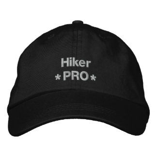 Hiker Pro Embroidered Baseball Hat