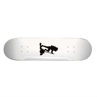 Hiker Silhouette Skate Board Deck