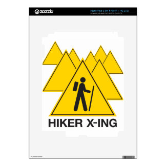 Hiker X-ing Skin For iPad 3
