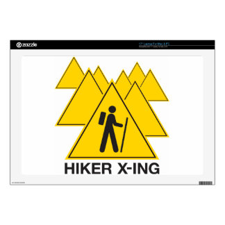"Hiker X-ing Skins For 17"" Laptops"
