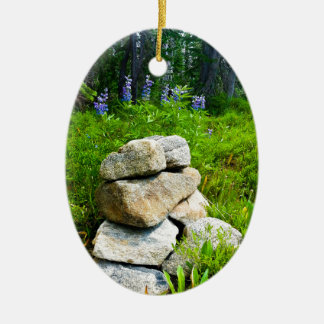 """Hiker's Salvation"" Christmas Tree Ornament"