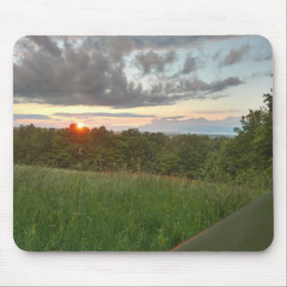 Hikers Sunset Mousepad