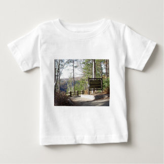 Hikers Turkey Path with sign.at Pa Grand Canyon Baby T-Shirt