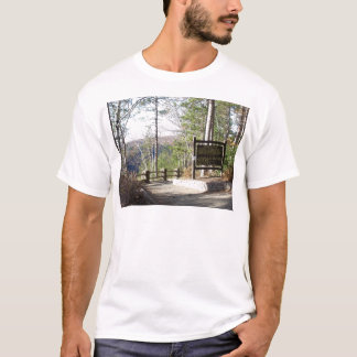 Hikers Turkey Path with sign.at Pa Grand Canyon T-Shirt