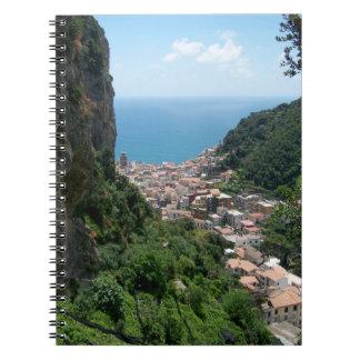 Hiking Above Amalfi Notebook