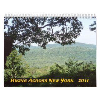 Hiking Across New York 2011 Calendar