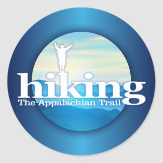 Hiking (Appalachian Trail) Classic Round Sticker