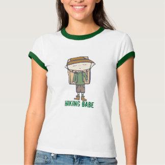 HIking babe t-shirt