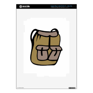 Hiking Backpack Decals For iPad 3