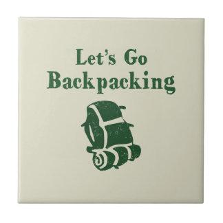 Hiking Backpack Tile