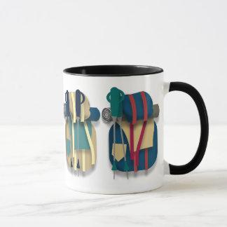 Hiking Backpacks, Bedrolls & Walking Sticks Mug