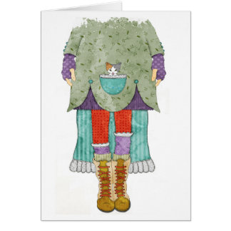Hiking Boots One Greeting Card