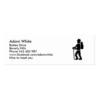 Hiking Business Cards