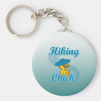 Hiking Chick #3 Keychain