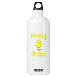 Hiking Chick Aluminum Water Bottle