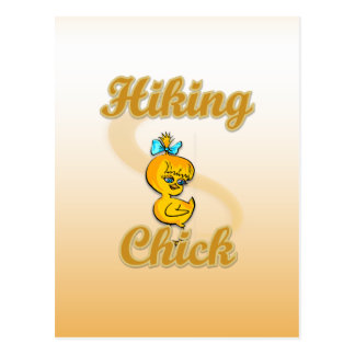 Hiking Chick Postcard