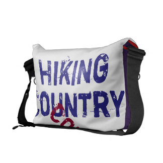 Hiking country music courier bag