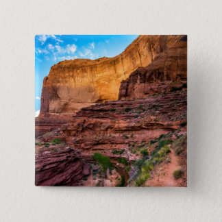 Hiking Coyote Gulch - Utah Pinback Button