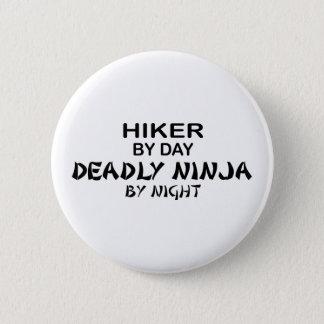 Hiking Deadly Ninja by Night Pinback Button