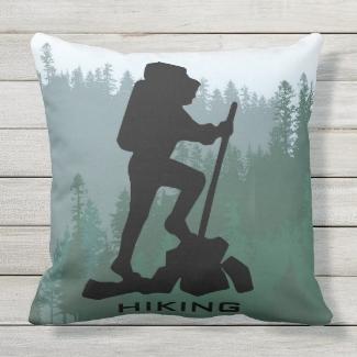 Hiking Design OUTDOOR pillow