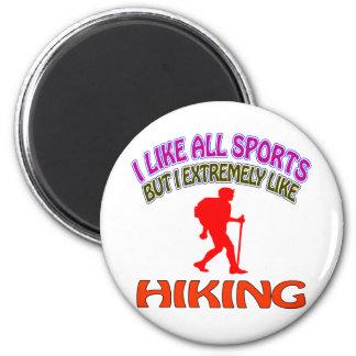 Hiking designs 2 inch round magnet