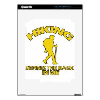 hiking DESIGNS Skins For iPad 2