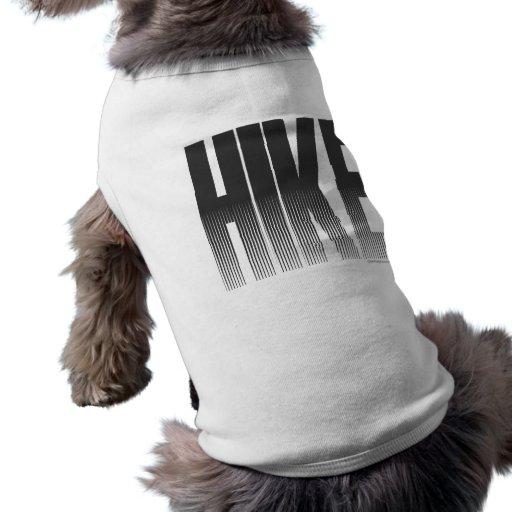 Hiking Dog Tee Shirt